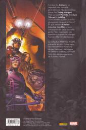 Verso de Avengers (Marvel Icons) -HS1- Avengers - Allan Heinberg - Jim Cheung