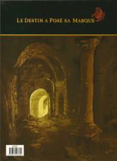 Verso de Le scorpion -6a- Le Trésor du Temple