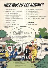 Verso de Gil Jourdan -15a77- Sur la piste d'un 33 tours
