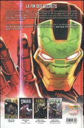 Verso de Original Sin Extra - Hulk / Iron Man / Thor
