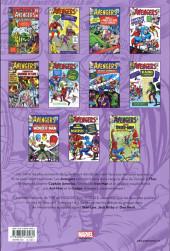 Verso de Avengers (The) (L'intégrale) -1INTb18- 1963-1964
