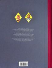 Verso de Blake et Mortimer (Les Aventures de) -4TL- Le mystère de la grande pyramide t1