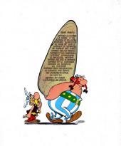 Verso de Astérix -3b75- Astérix et les Goths