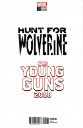 Verso de Hunt for Wolverine -1c- Secrets and Lives - Young Guns Variant Textless