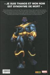 Verso de Thanos - Je suis Thanos - Je suis Thanos
