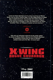 Verso de Star Wars - X-Wing Rogue Squadron (Delcourt) -INT03- Intégrale III