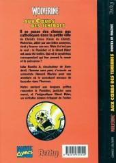 Verso de Wolverine (Comics Culture) -2- Aux cœurs des ténébres