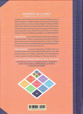 Verso de La petite Bédéthèque des Savoirs -23- Naissance de la Bible - Comment elle a été écrite
