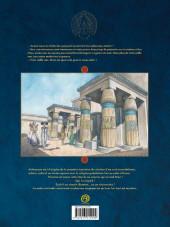 Verso de Les deux Cœurs de l'Égypte -1TL- La barque des milliers d'années