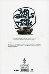 Verso de Tank Girl -9- Two girls one tank
