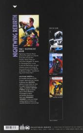Verso de Nightwing Rebirth -3- Nightwing doit mourir