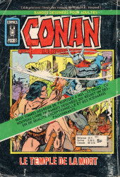 Verso de Le vicomte (Comics Pocket) -12- S'il le faut Vicomte?