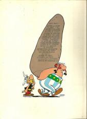Verso de Astérix -13c1976- Astérix et le chaudron