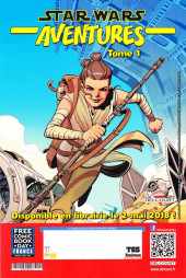 Verso de Free Comic Book Day 2018 (France) - Star Wars