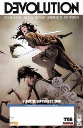 Verso de Free Comic Book Day 2018 (France) - Winnebago - Graveyard