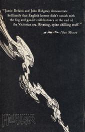Verso de Hellblazer (DC comics - 1988) -1- Hunger