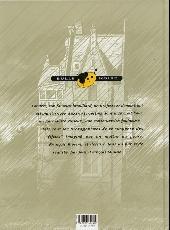 Verso de Outsiders (Rivière/Miniac) -1- Le couronnement du Professeur Clegg