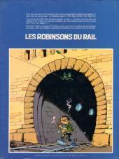 Verso de Les robinsons du rail - Tome 1