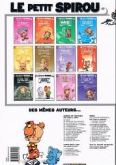 Verso de Le petit Spirou -10b2006- Tu comprendras quand tu s'ras grans!