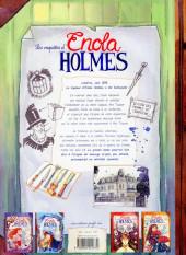 Verso de Les enquêtes d'Enola Holmes -5- L'énigme du message perdu