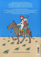 Verso de Les descendants ou l'appel de la Pampa