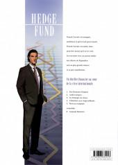 Verso de Hedge Fund -1a18- Des hommes d'argent