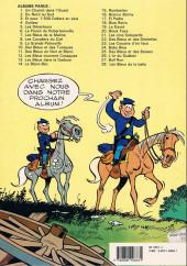 Verso de Les tuniques Bleues -11b1989- Des bleus en noir et blanc