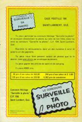Verso de Le fantôme (Éditions Héritage) -6- La tribu des revenants