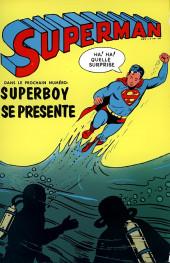 Verso de Superman l'homme d'acier puis Superman et Batman (1re Série Interpresse) -2- Torso le monstre dévoreur !