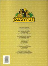 Verso de Papyrus -6c00- Les quatre doigts du dieu Lune
