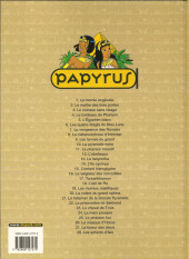 Verso de Papyrus -7c06- La vengeance des Ramsès
