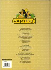 Verso de Papyrus -14a2004- L'île cyclope