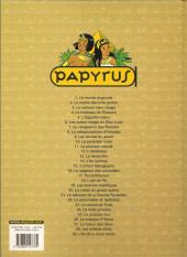 Verso de Papyrus -18b07- L'Œil de Ré