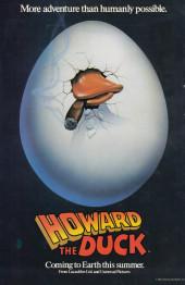 Verso de Howard the Duck (1976) -33- Material Duck