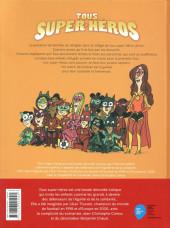 Verso de Tous super-héros -2- La coupe de tout le monde