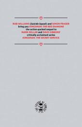 Verso de Kingsman: The Red Diamond (2017) -1- Issue #1