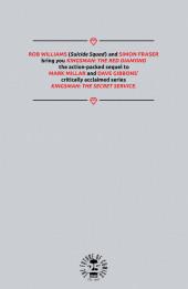 Verso de Kingsman: The Red Diamond (2017) -4- Issue #4