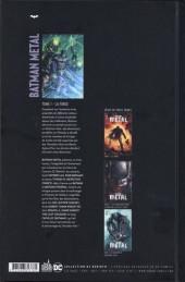 Verso de Batman Metal -1- La Forge