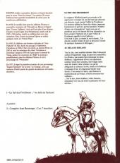 Verso de Blason d'Argent -3- Le Fief des Froidmont - Au delà du Seeland