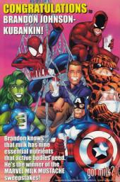 Verso de Incredible Hulk (The) (Marvel comics - 2000) -AN2000- Basic instinct