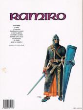 Verso de Ramiro -3a94- Traquenard à conques