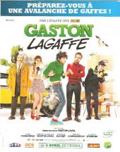 Verso de Gaston (Hors-série) - Gaston de A à Z (L'histoire du plus grand gaffeur)
