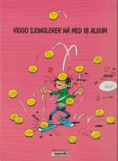 Verso de Gaston (en norvégien) -15a90- Alle tiders