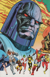 Verso de Uncanny X-Men and the New Teen Titans (The) (1982) -1- Apokolips... Now!