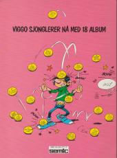 Verso de Gaston (en norvégien) -7a96- Kontra kvikk
