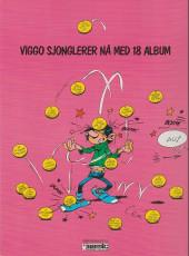 Verso de Gaston (en norvégien) -7a88- Kontra kvikk