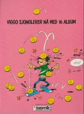 Verso de Gaston (en norvégien) -10a84- Spok og spetakkel med
