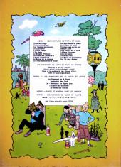 Verso de Jo, Zette et Jocko (Les Aventures de) -5b40- La vallée des cobras