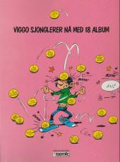 Verso de Gaston (en norvégien) -12a90- Eller og kaos