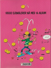 Verso de Gaston (en norvégien) -14a88- - en kjempekatastrofe